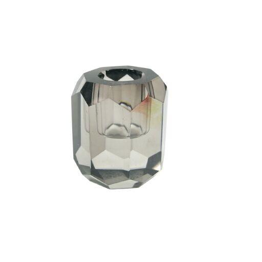 Kristallkerzenhalter D5 H 6cm, 2 Stück