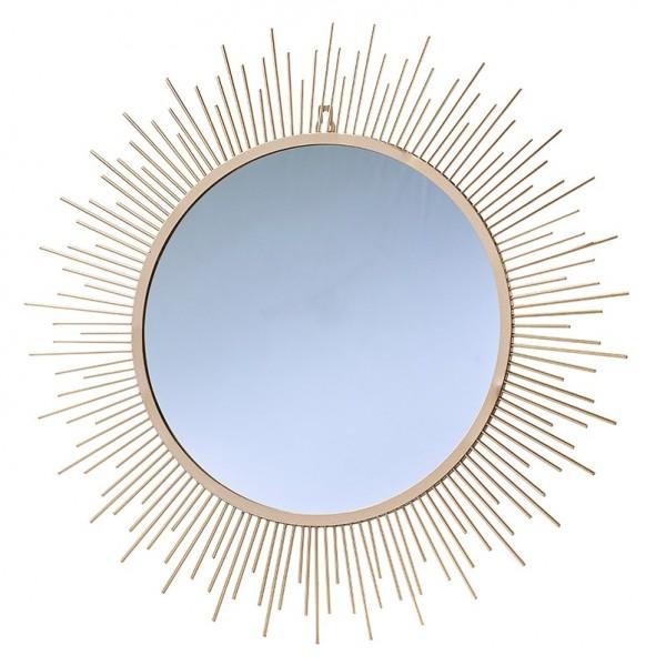 Spiegel mit Goldrand D53H1,3cm, Ve. 1 (#152873000)