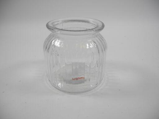 Glastopf Ø10,5cm Höhe 10,5cm, 1 Stück