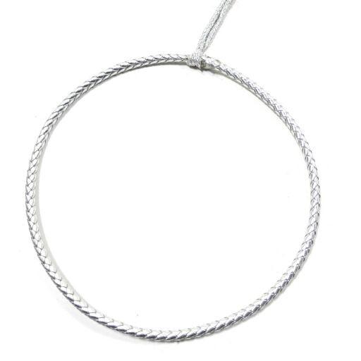 Ring auf Silberfaden D21cm, Ve. 4Stück (#181004053)