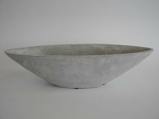 Schale Schiffchen oval 36x11x9cm