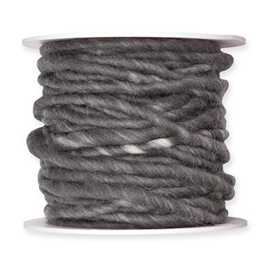 Wollschnur grau B5mm, Ve. 1 Rll = 10m