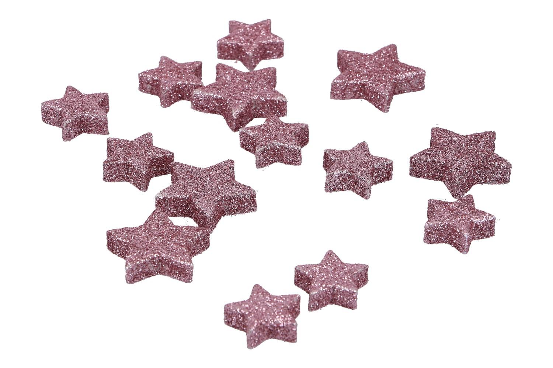 Glietter Sterne zum Streuen 2,5 & 3cm,
