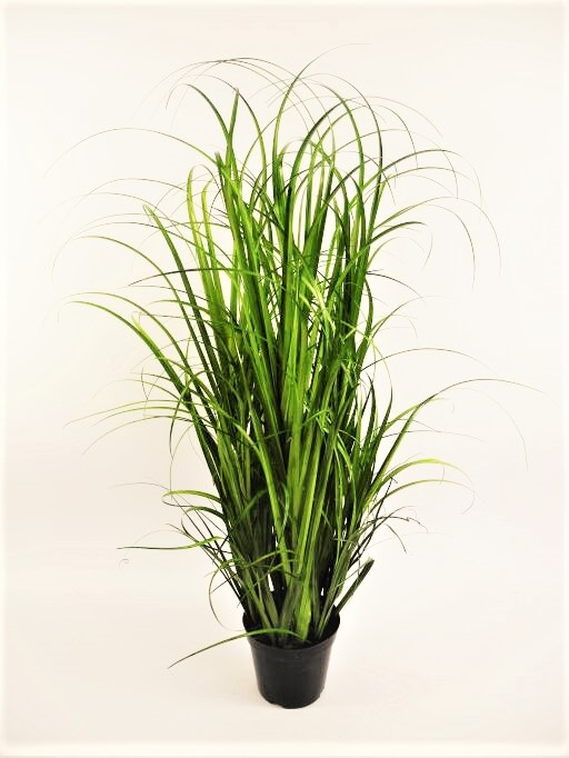 Gras in Platiktopf mit Moos H 95cm (#194463000)