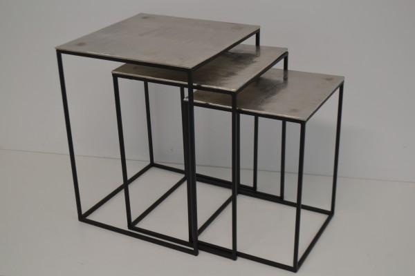 Tisch quadratisch, 3er Set, 1 Set