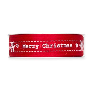 Druckband'Merry Christmas' B25mm