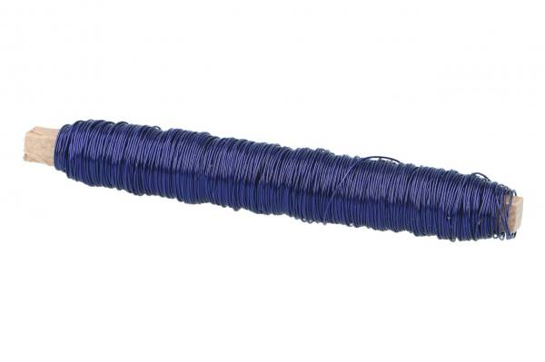 Kupferlackdraht Blau, 0,50mm, 100gr.