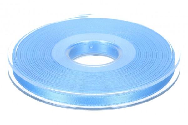Satinband 6mm, 25m, blau