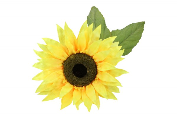 Jumbo-Sonnenblume mit Stiel & 4 Blätter