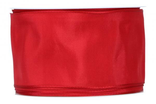Formb. Drahtkantenband 60mm, 25m, rot