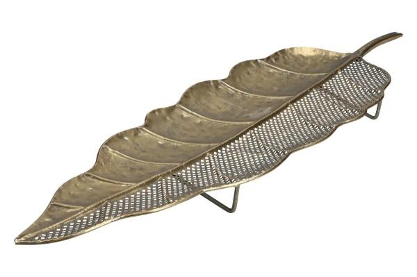 Blatt Metall Länge 92cm , Breite 27cm