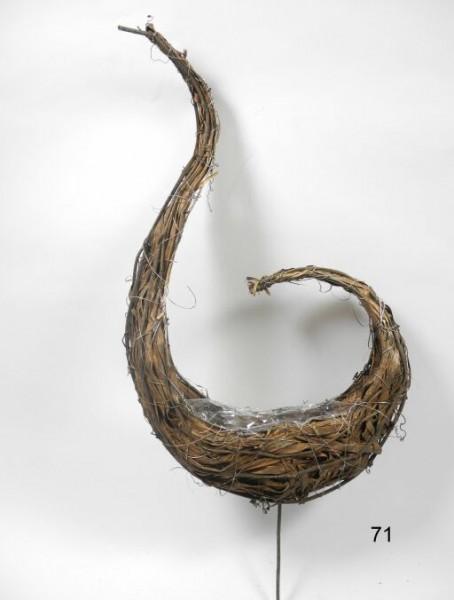Reben Schale Ornament, 1 Stück