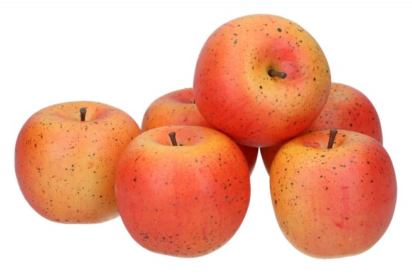 6 Äpfel 7,5cm