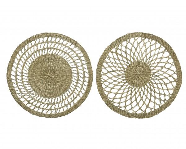Tischset aus Seegras, 2fach sortiert