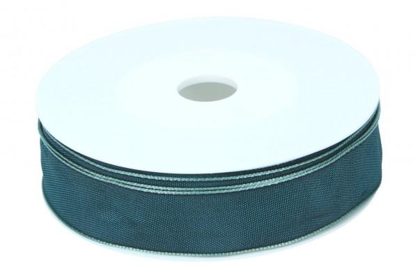 Formb. Drahtkantenband 25mm, 25m, petrol