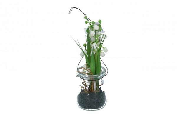Maiglöckchen im Glas zum hängen (#190221000)