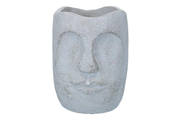Topf 'Gesicht' Ø16cm Höhe 20cm, 1 Stück (#140580000)