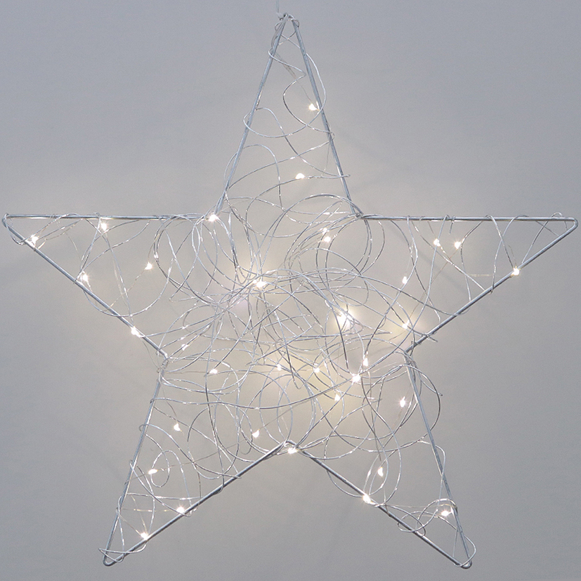 Lichtdeko 'Stern', D50 x B13cm, Ve. 1