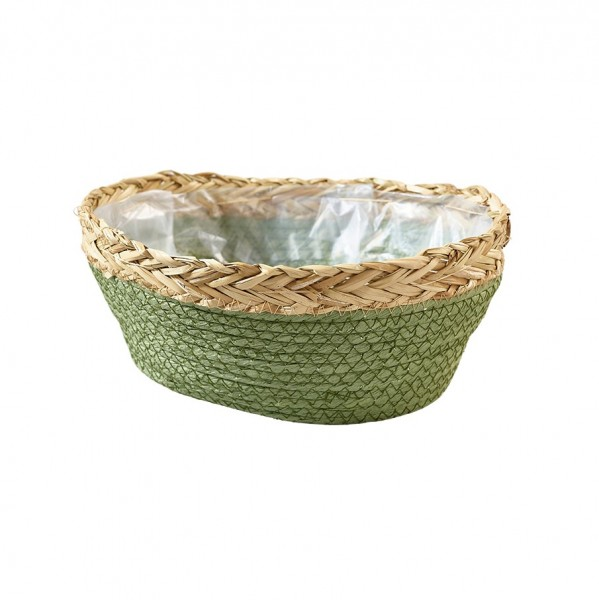 Korb aus Seegras oval 28x22x13cm, VE=1 (#220391000)