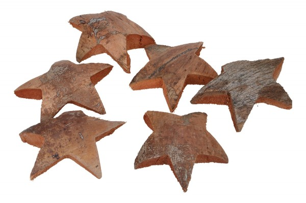 Kokosnuss Sterne ca. 11cm, 1 Pack = 25St