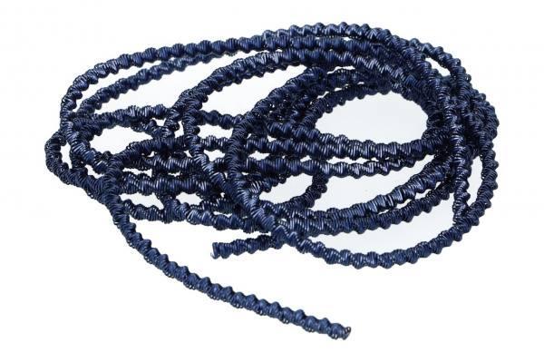 Bouillondraht grob, Blau, 1,5m