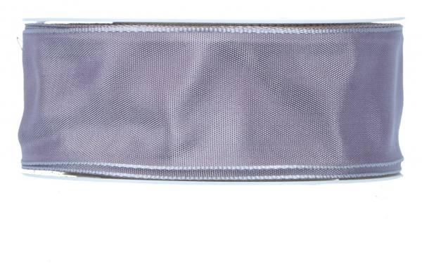 Formb. Drahtkantenband 40mm, dunkel lila
